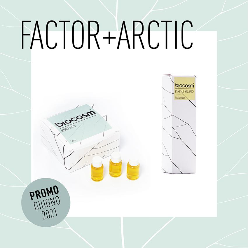 Prima di cominciare.. esfoliare, nutrire, idratare. La promo Hydraskin Factor + Arctic Cream di Biocosm per il mese di giugno.